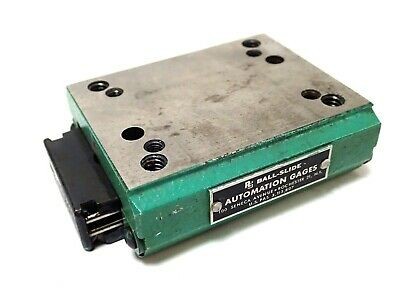 """AG AUTOMATION GAGES LL31 BALL-SLIDE / LINEAR POSITIONING SLIDE 3x2.25"""" STAGE"""