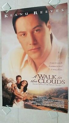 A Walk in the Clouds movie poster - Keanu Reeves - Original 2 sided poster
