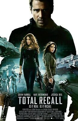 Total Recall movie poster (b)  - 11 x 17 inches - Colin Farrell