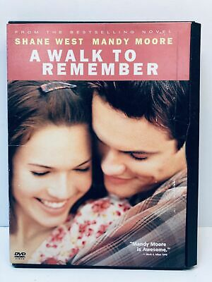 A Walk to Remember Mandy Moore Shane West DVD Movie Snap Case