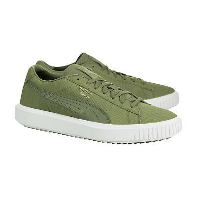 Leather Uk6 Sneakers Breaker New Suede Shoes 5 Puma Trainers Olive Capulet Green eWEH9YD2I