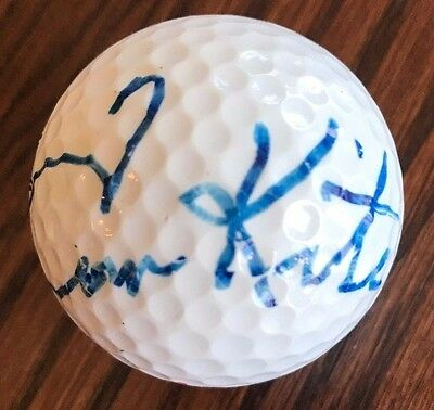 Tom Kite, Hand Signed Golf Ball,Professional Golfer,Signed at Tom Watson Charity