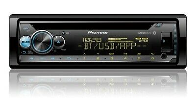 Pioneer DEH-S5100BT 1-DIN Car Stereo In-Dash CD MP3 USB Receiver w/ Bluetooth
