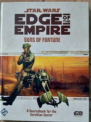 Suns Of Fortune, Star Wars Edge Of The Empire RPG, Sourcebook