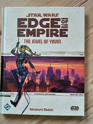 The Jewel Of Yavin, Star Wars - Edge of the Empire RPG, Adventure Module