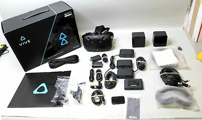 Htc Vive Virtual Reality System Headset - Not Complete - *no Game Codes*