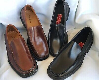 5a1c41d4e COLE HAAN NIKE AIR Mens Black/Brown Slip On Loafer Casual Shoes Size 9 1