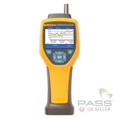 *New* Genuine Fluke 985 Airborne Particle Counter with Accessories / UK Approved