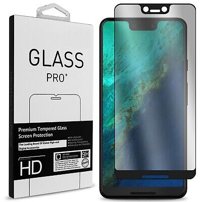 9H Premium Full Coverage Tempered Glass Screen Protector For Google Pixel 3 XL
