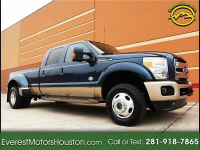 2013 F-350 4WD Crew Cab Dually Long Bed King Ranch 2013 Ford Super Duty F-350 DRW 4WD Crew Cab Dually Long Bed King Ranch 6.7L V8 F
