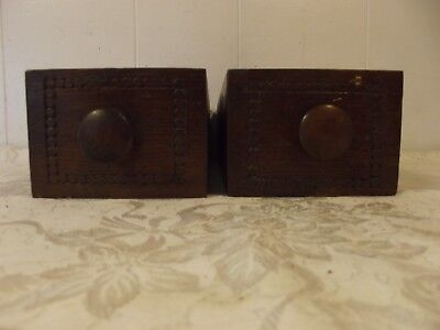 Antique Treadle Sewing Machine Drawers Two Drawers