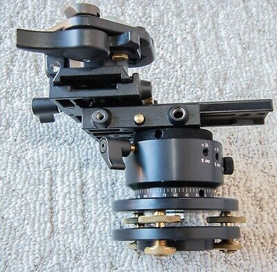 Manfrotto 3415 Qtvr Panoramic Head With leveling base tripod head