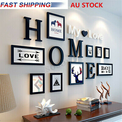 AU Home Design Wedding Photo Wall Decoration Picture Tree Frame Set Office