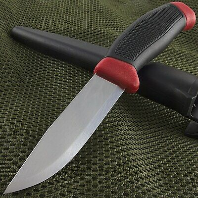 "8.5"" MORA MORAKNIV CLIPPER 840 RED CARBON STEEL KNIFE Survival Hunting Sweden"