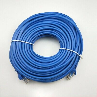 CAT5e RJ45 Ethernet Network High Speed LAN Patch Cable 1M to 30M Wholesale BLUE