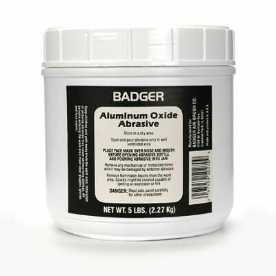 Badger Aluminum Oxide Abrasive 5lbs BAD50270