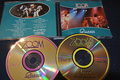 QUEEN - ZOOM - 2 CD Live in Osaka March 1975 Japan - rare recording