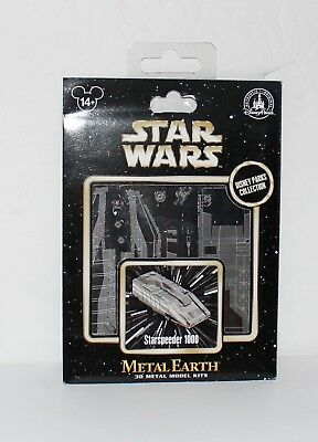 Disney Parks Star Wars STARSPEEDER 1000 - Metal Earth 3D Model Kit - NEW!