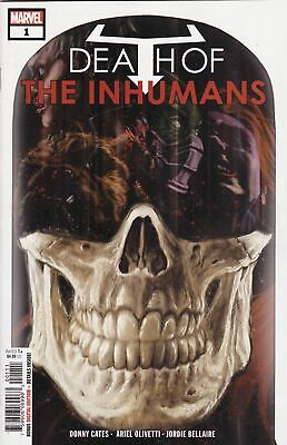 Death of the Inhumans (2018) #1 1st app Vox Donny Cates Marvel Comic Book NM