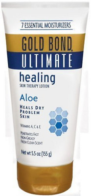 Gold Bond Ultimate Skin Therapy Cream Healing Aloe, 5.5 Ounce (Pack of 3) Body f