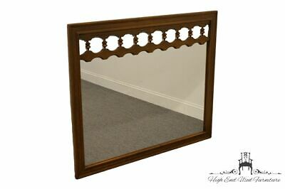 YOUNG HINKLE Solid Oak Country Spanish Dresser / Wall Mirror 7005