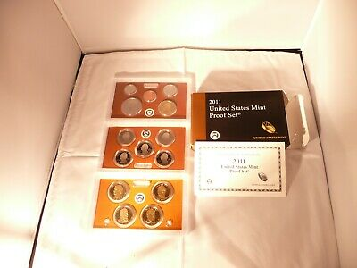 2011-S United States 14 Clad Coin Proof Set with COA