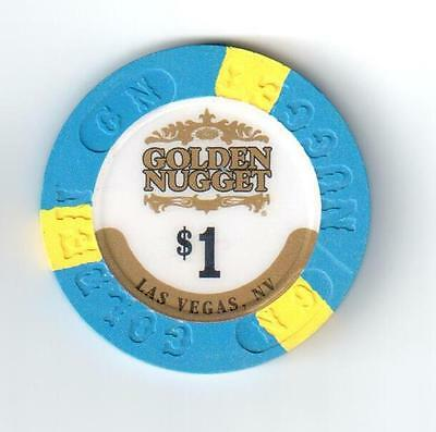 Las Vegas, NV Golden Nugget $1 CASINO POKER CHIP