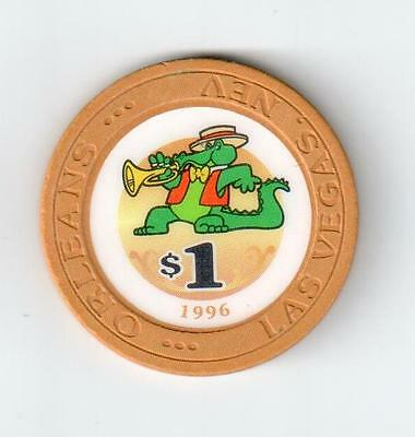 Las Vegas, NV 1996 Orleans $1 CASINO POKER CHIP