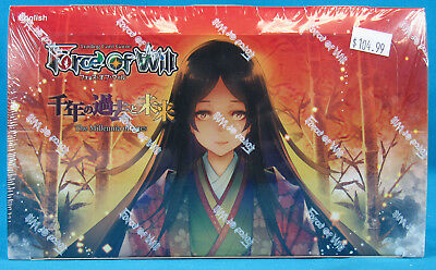 Force of Will Trading Card Game The Millennia of Ages Booster Box NEW SEALED