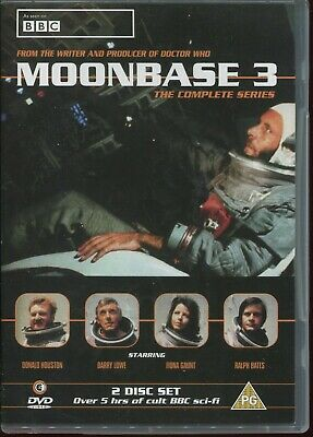 Moonbase 3 - The Complete Series (2-Disc Set) HOUSTON LOWE GAUNT RALPH BATES