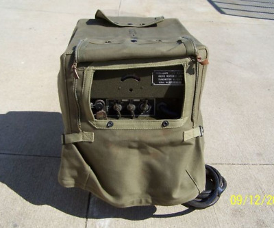 COVER BG-153 NOS per radio willys mb - ford gpw WWII