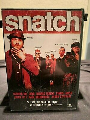 Snatch (DVD, 2003, Single Disc) - Used