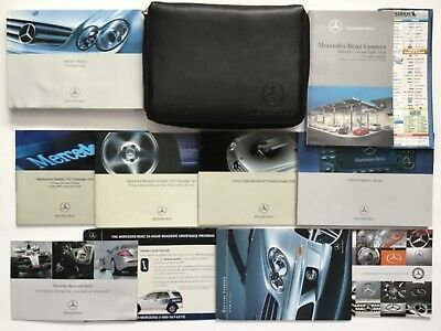 2007 Mercedes CLK350 CLK550 Coupe Owners Manual + Navigation Book Complete Set
