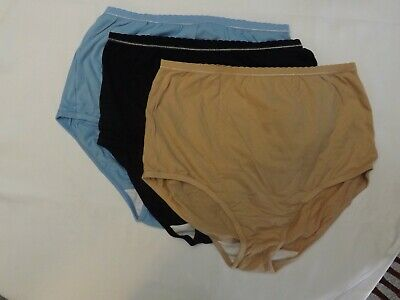1424c7bb3bc8 Breezies Set of 3 Cotton Brief Panties w/ UltimAir Lining-A307972-Warm-
