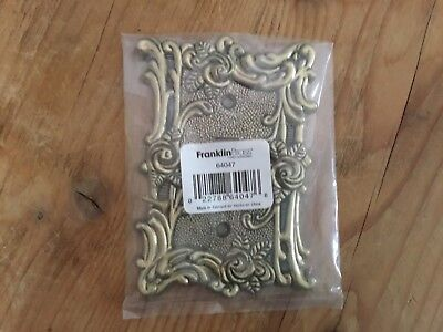 Amertac Antique Brass Single Switch Plate Cover