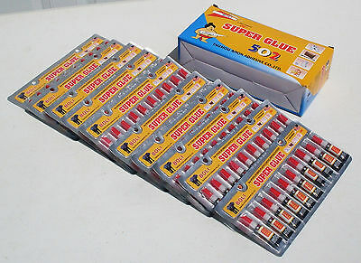One Box (100 Tubes) of  Super Glue - 'Cyanoacrylate Adhesive' (Free Shipping)