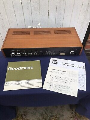 Retro Goodmans Module 80 Tuner/Amp, Fully Working, Great Condition