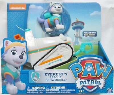 ++ Paw Patrol - Everest's Rescue Snowmobile - US Seller
