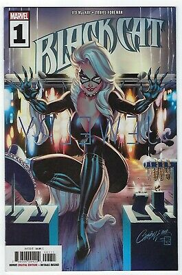 Black Cat # 1 J Scott Campbell Cover A NM Marvel Ships June 5th
