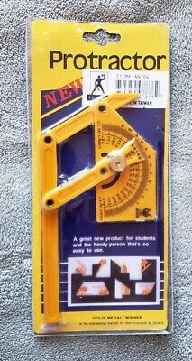 VULCAN Long Arm Protractor NN104 Angle Finder Tool Exclt Cond in Off-Cond Pkg