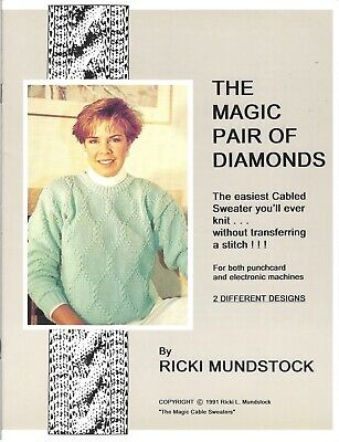 MAGIC PAIR OF DIAMONDS By Ricki Mundstock-Cables without Transferring PC & Elec