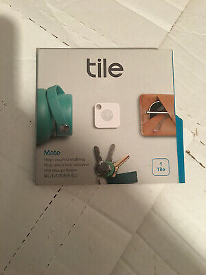 Tile - Mate Helps You Find Anything Item Tracker - White