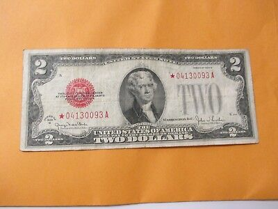 1928-G  $2 Legal Tender (Star Note)