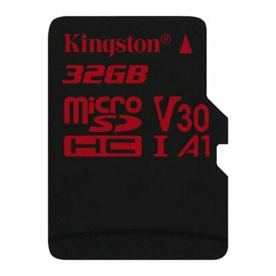 32 GB Kingston Canvas React microSDHC UHS-I A1 V30 Retail