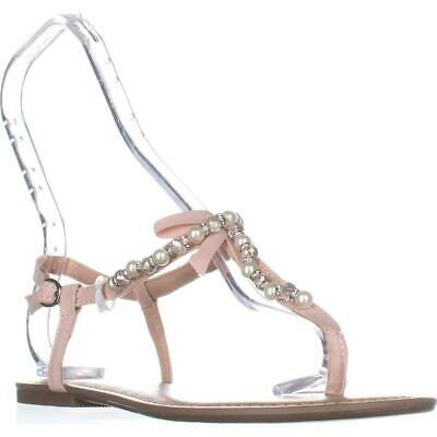77301f5c3 MG35 Perlie Bow T-Strap Flat Sandals