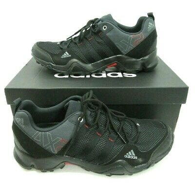 5e52fe1e3 Men s adidas AX2 ClimaProof Outdoor Hiking Shoes Core Black   Grey Size ...