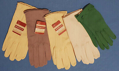 5 Pairs Ladies Gloves Vintage - Early 1960 - 3 Morley - 1 Personality  - 1 Other