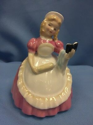 "VTG Royal Doulton Fine English China Figure ""Cookie"" 1957, 4.75"""