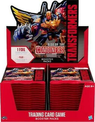 Transformers TCG: Rise of the Combiners Booster Box of 30 Packs New
