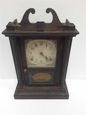 Sessions Chippendale 8 Day Ship Mantel Clock Early 1900's